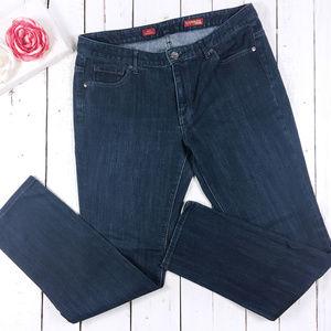Express Mia Ultra Skinny Dark Wash Jeans 12L
